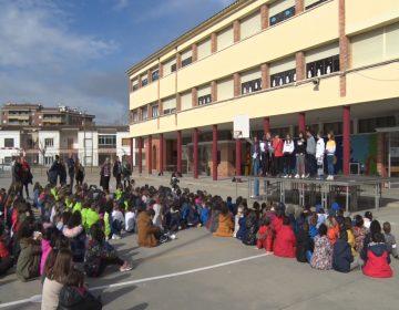 L'escola Gaspar de Portolà celebra el Dia Escolar de la No-violència i la Pau