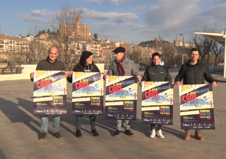 Balaguer celebrarà el 6è Cros comarcal el proper 16 de febrer