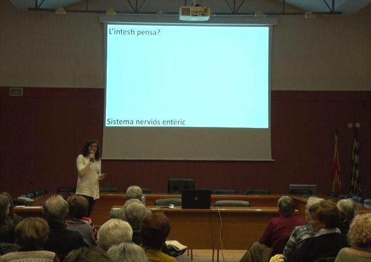 Alba Sorolla imparteix la primera sessió de l'any de les Aules de Formació del Consell Comarcal