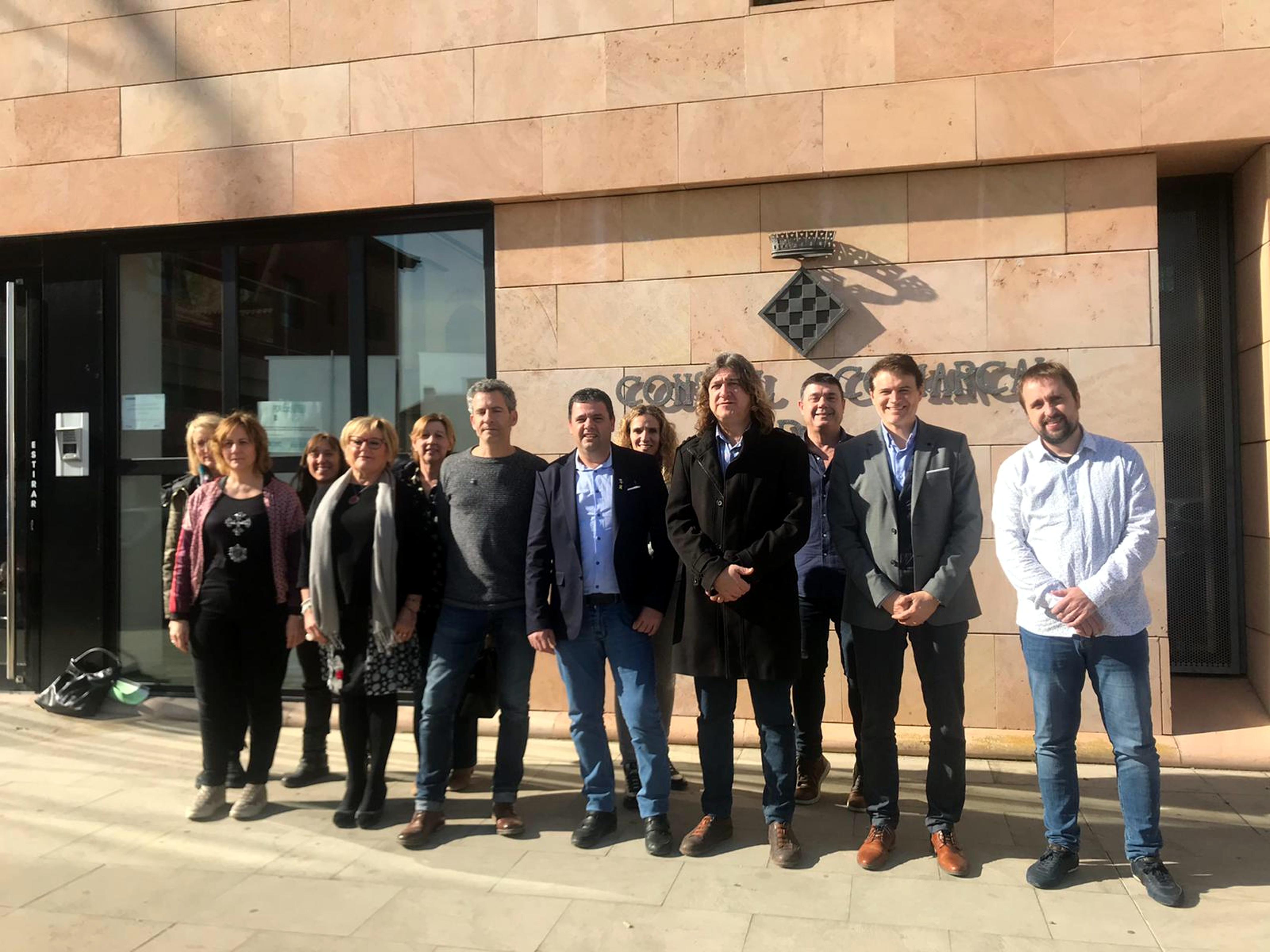 La Noguera, el Segrià i l'Urgell reclamen conjuntament més finançament per als Serveis Socials