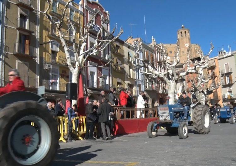 Balaguer es prepara per la Festa de Sant Antoni