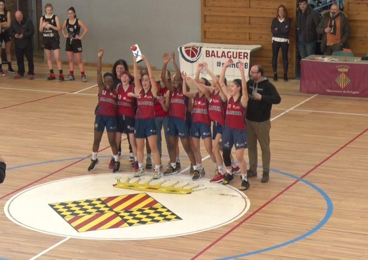 El CB Balaguer i el Sedis, campions de la Copa Federació de categoria júnior
