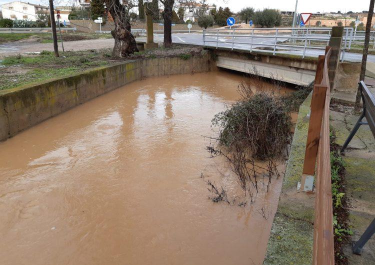 La Sentiu de Sió sense aigua potable a causa del temporal