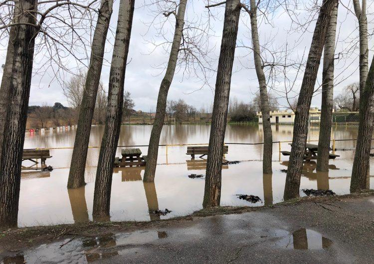 La crescuda del riu Sió afecta lleugerament el municipi de Montgai