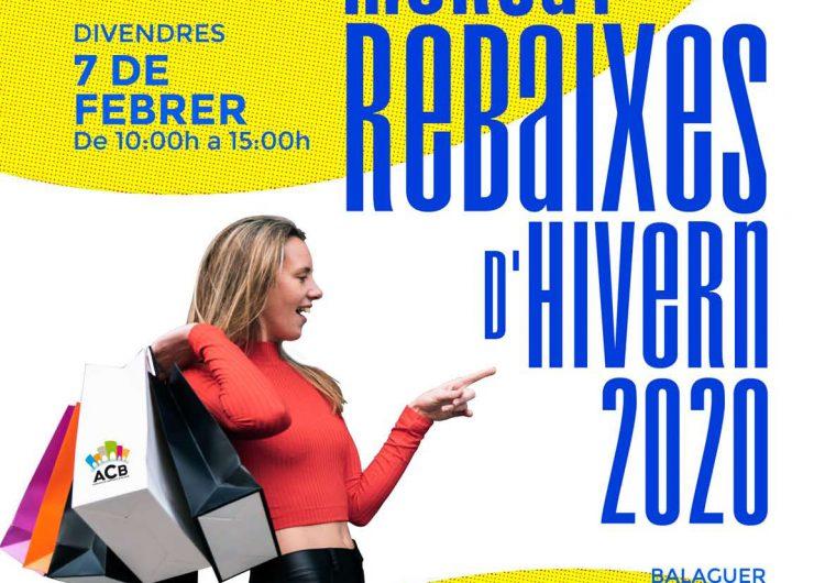 El comerciants de Balaguer preparen la 23a edició del 'Mercat de les Rebaixes'