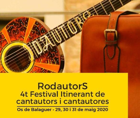 Os de Balaguer acollirà el IV festival Rodautors