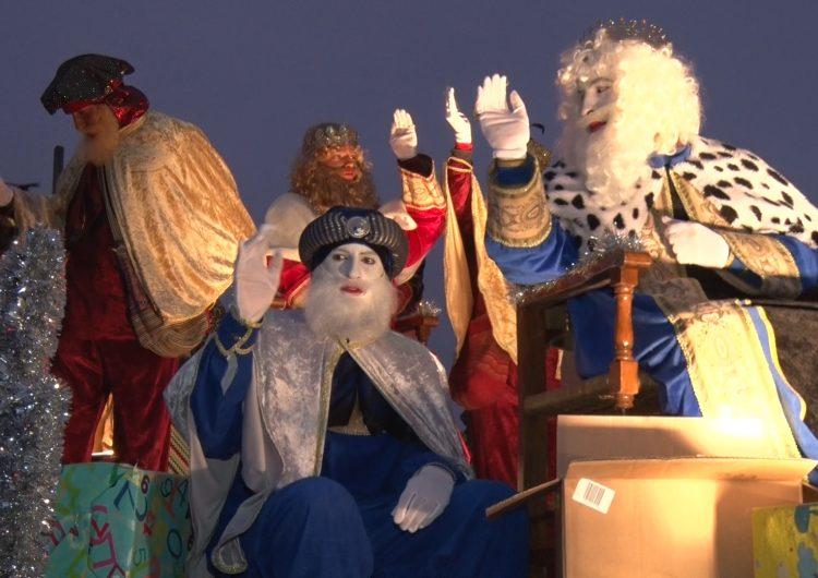 Ses Majestats els Reis d'Orient arriben a la vila de Térmens