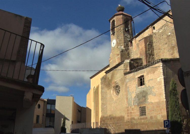 Menàrguens repara els danys que va causar el temporal Gloria a l'església