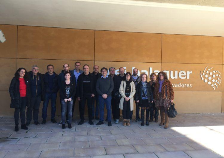 El Patronat de Promoció Econòmica visita el CEI Balaguer