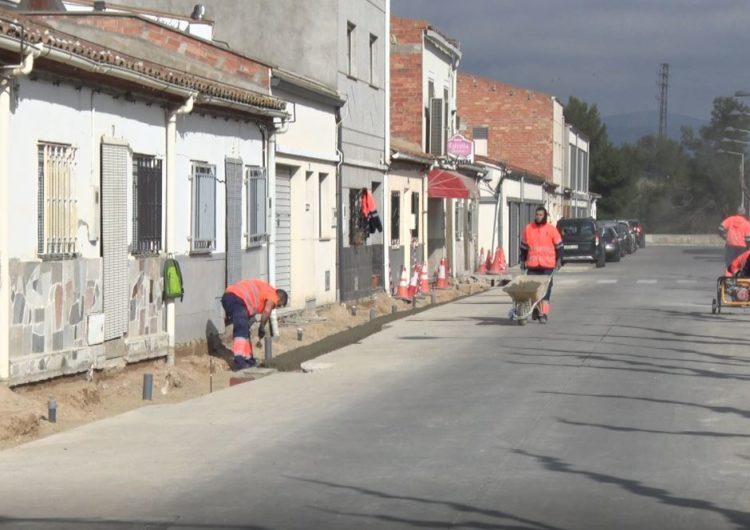 Balaguer arranja diverses voreres i substitueix canonades