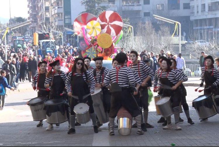 Gran Rua Infantil del Carnestoltes del Congre a Balaguer
