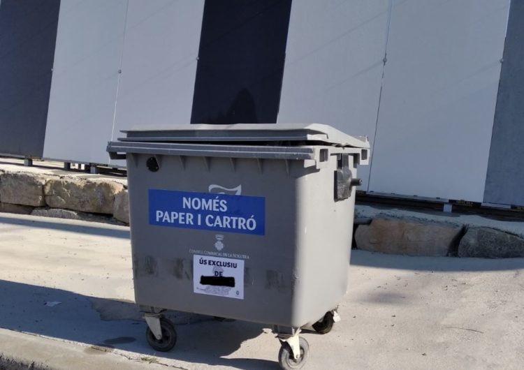 El Consell Comarcal de la Noguera posa en marxa un servei de recollida de cartró i paper a les empreses