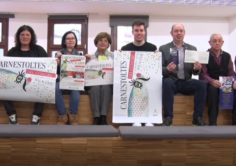 El Carnestoltes del Congre de Balaguer escalfa motors