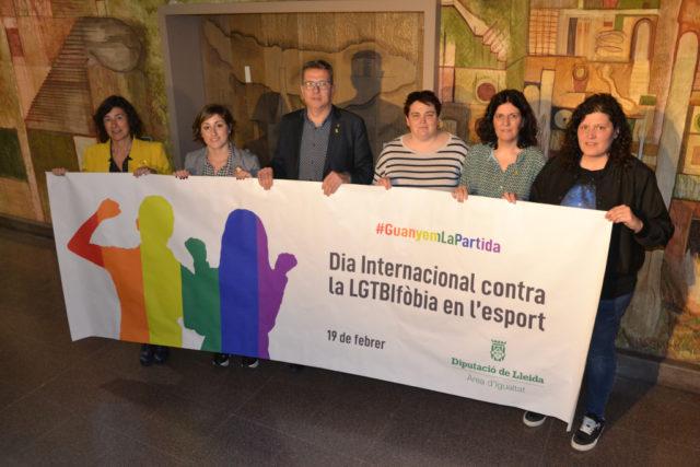 La Diputació dona el tret de sortida de la campanya #Guanyemlapartida de suport al col•lectiu LGTBIQ