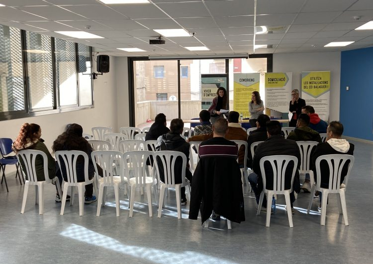 La Paeria de Balaguer presenta el programa Treball als Barris per a 2020
