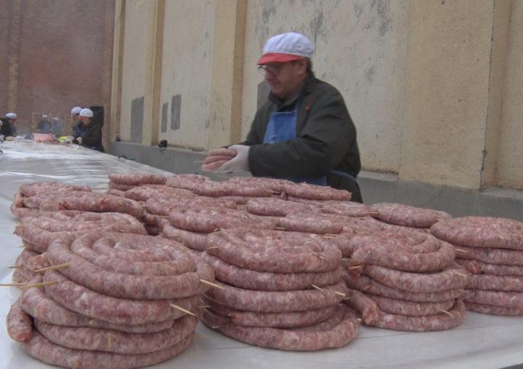 Artesa de Segre celebra la 41a Matança del Porc