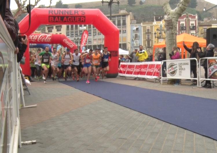 Eva Ribalta i Jose Manuel Vieito guanyen la Mitja Marató de Balaguer