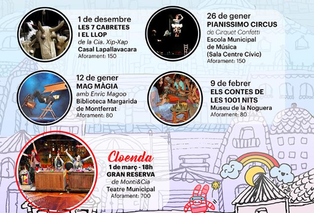 """""""Els Contes de les 1001 Nits"""" aquest diumenge a l'Emboirats"""