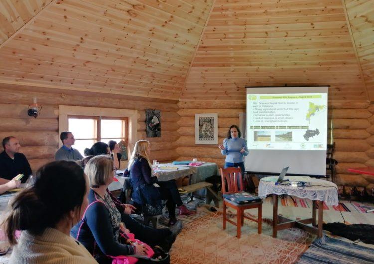 El GAL Noguera Segrià Nord participa en l'International Cooperation Seminar a Estònia