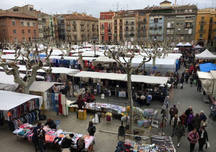 Balaguer obre una consulta pública per conèixer l'opinió de la ciutadania sobre l'ordenança que regularà els mercats
