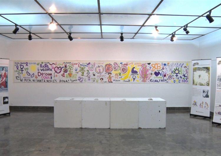 La Paeria de Balaguer acull l'exposició 'Artistes catalanes del dibuix i la pintura'