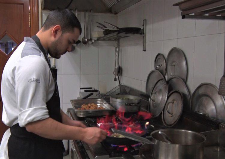 Sergi Aritzeta, cuiner de Cal Xirricló, segon al concurs de Joves Cuiners Àngel Moncusí