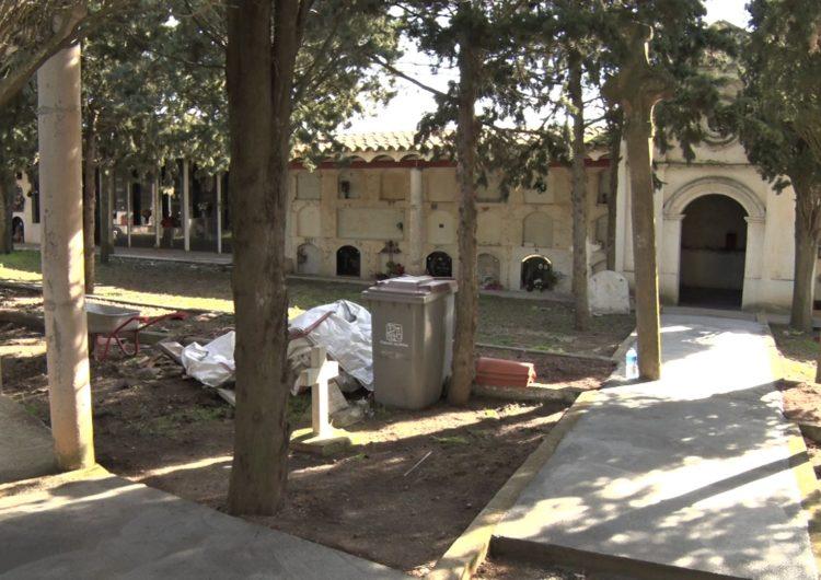 Bellmunt realitza obres d'adequació al cementiri