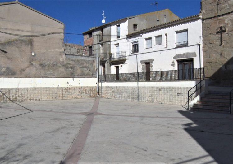 Bellmunt renova la plaça Major i el carrer Major del municipi
