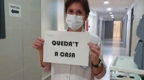 El CAP de Balaguer agraeix el suport als sanitaris a través de les xarxes socials