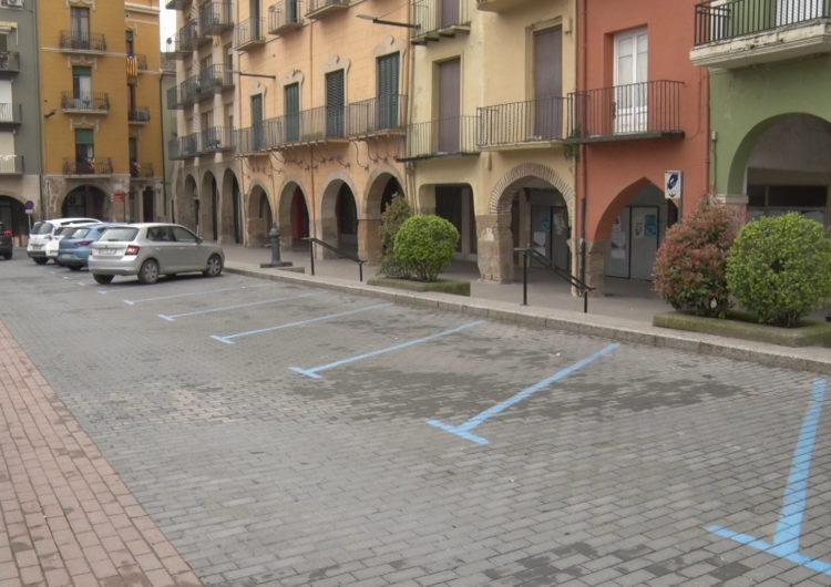 Suspès el pagament de zona blava de Balaguer