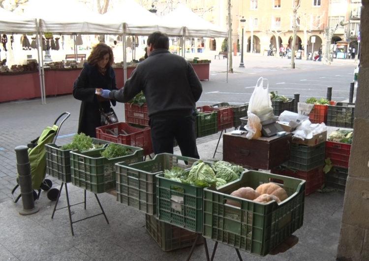Mercat setmanal atípic a Balaguer