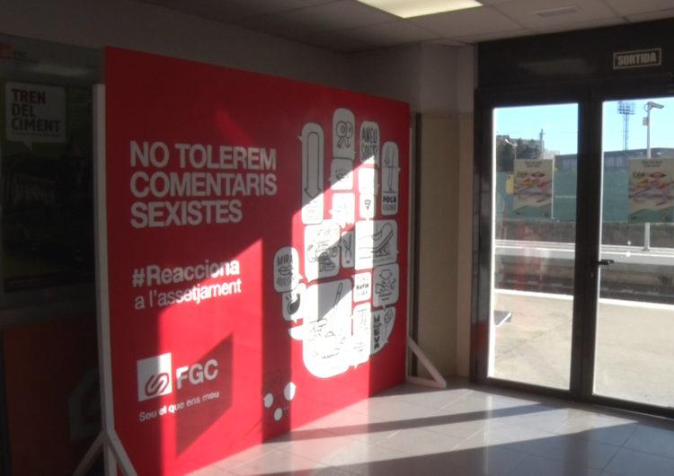 'Tolerància zero' amb els comentaris masclistes a l'estació de tren de Balaguer