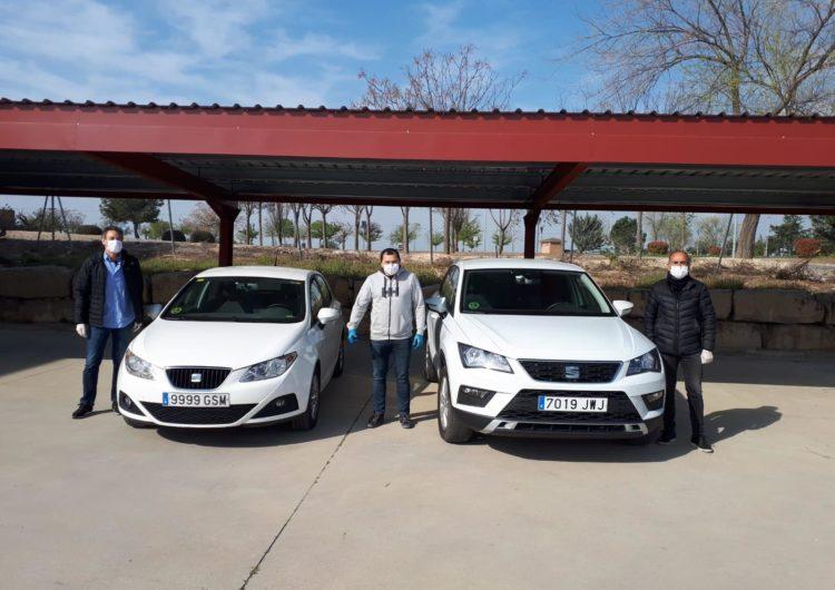 La Diputació de Lleida cedeix dos vehicles del seu parc mòbil al departament de Salut