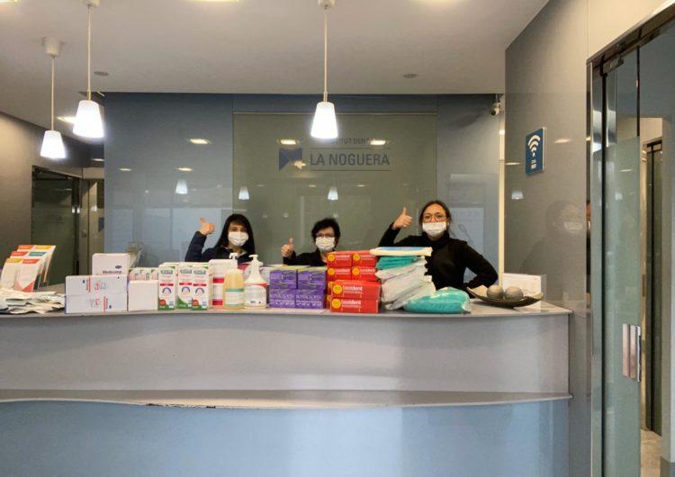 L'Institut Dental la Noguera fa donació del seu material sanitari al CAP de Balaguer