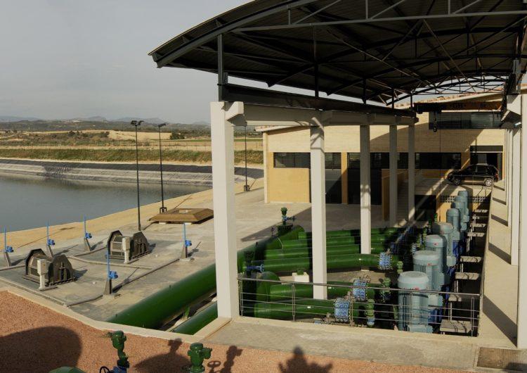 Inici de l'última fase de concentració parcel·lària del reg de l'Algerri Balaguer