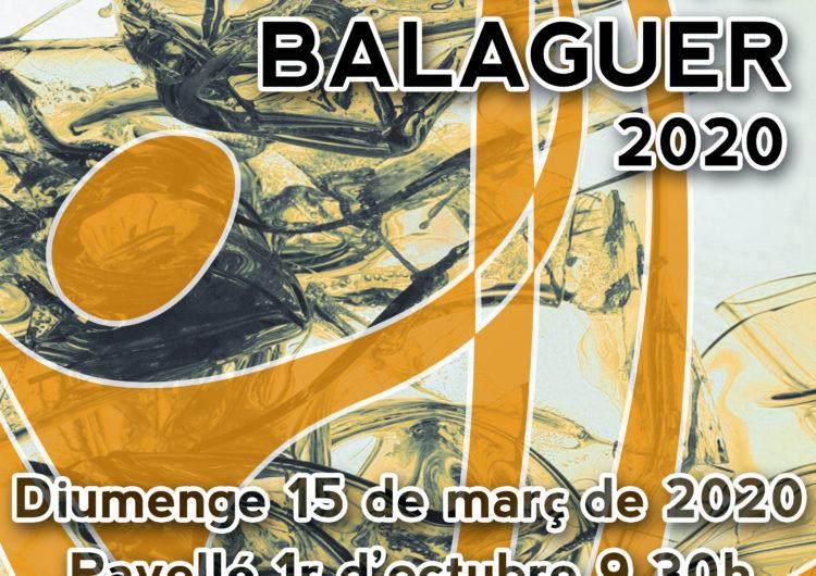 Tot a punt per la 14ª edició del Trofeu Gimnàstica Rítmica Ciutat de Balaguer