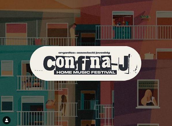 L'associació de joves de Balaguer estrena el festival Confina-J amb tres hores de música a través d'Instagram