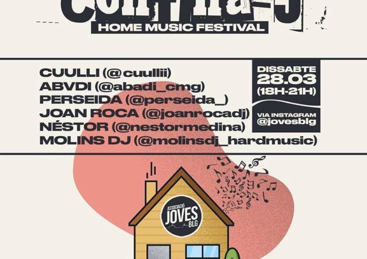 L'Associació de Joves de Balaguer organitza un festival de música online, el Confina-J
