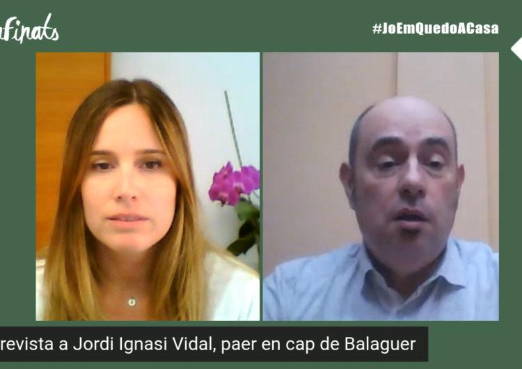 Confinats 1: Jordi Ignasi Vidal, paer en cap de Balaguer