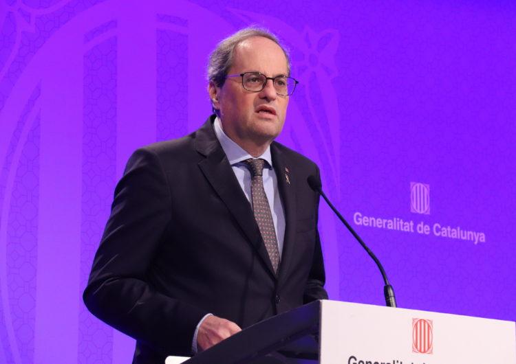 El Govern demana confinar tot Catalunya restringint les entrades i sortides del país
