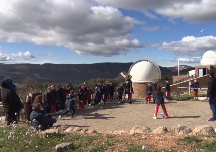 Comencen les visites escolars al Centre d'Observació de l'Univers d'Àger