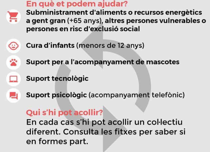 Balaguer, crea la Xarxa de Voluntariats per contrarestar els efectes del SARS-CoV2