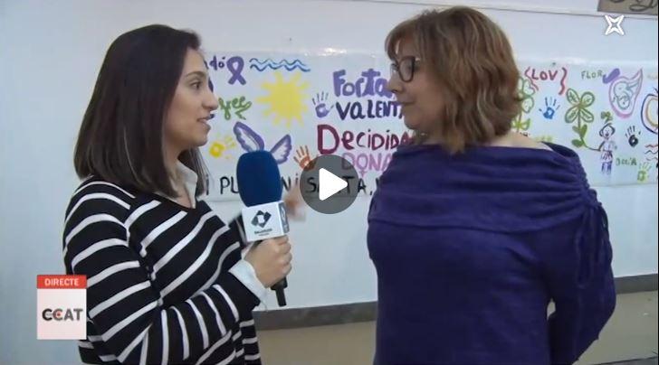 Connecti.cat: Mural creatiu per commemorar el Dia Internacional de les Dones