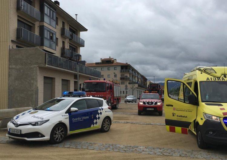 Els Bombers treballen en un foc de xemeneia a Balaguer