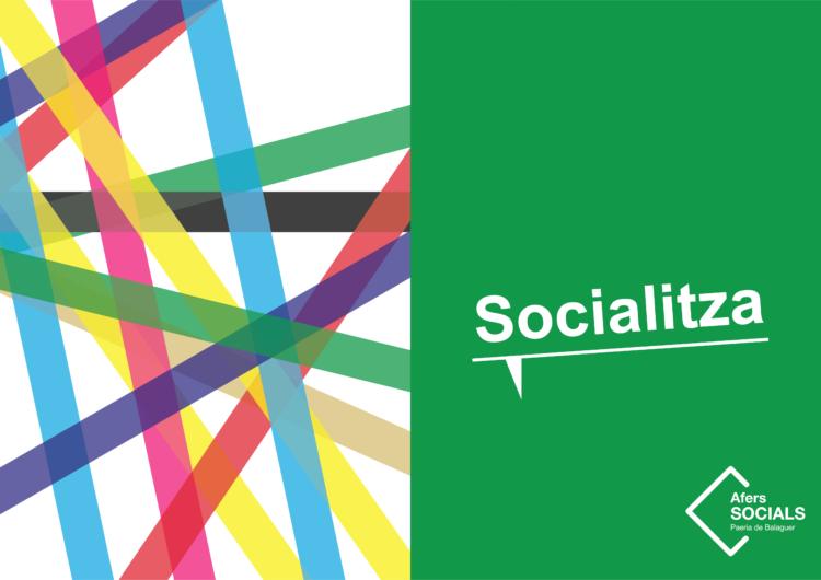"""La Paeria de Balaguer engega la campanya """"Socialitza"""""""