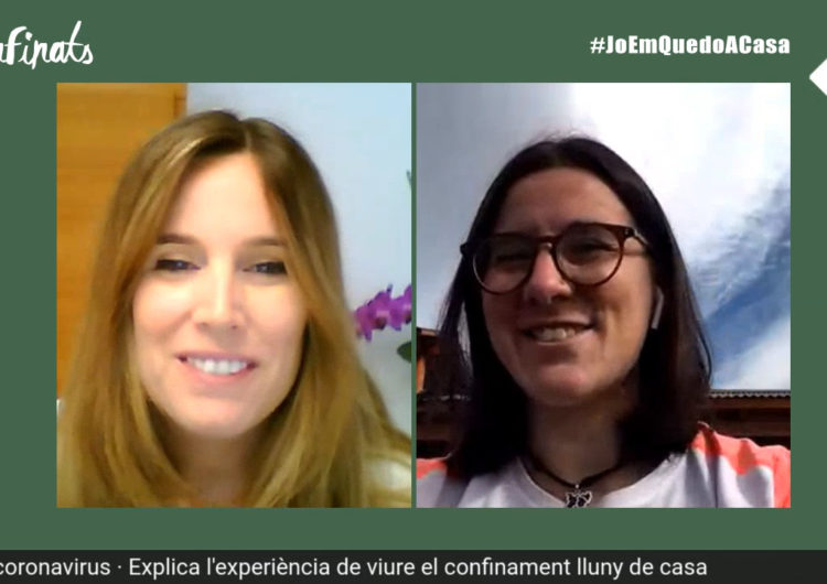 Confinats 3: Ariadna Sánchez, estudiant atrapada a l'Argentina