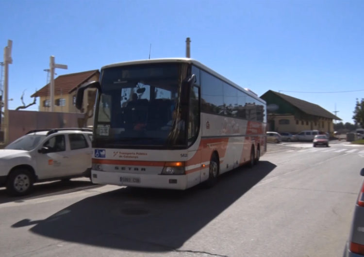 Ferrocarrils ofereix servei d'autobús substitutori entre Lleida i Balaguer del 20 al 24 d'abril per tasques de manteniment
