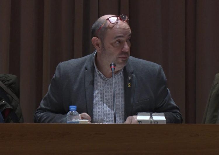 """Jordi Ignasi Vidal qualifica de """"populista"""" i """"oportunitsta"""" la demanda de rebaixa de sous de Junts per Balaguer"""