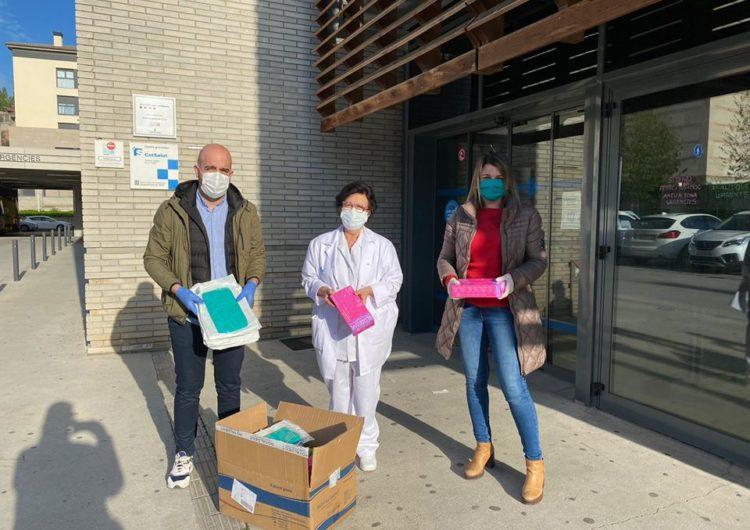 Junts per Balaguer entrega material sanitari al CAP de Balaguer