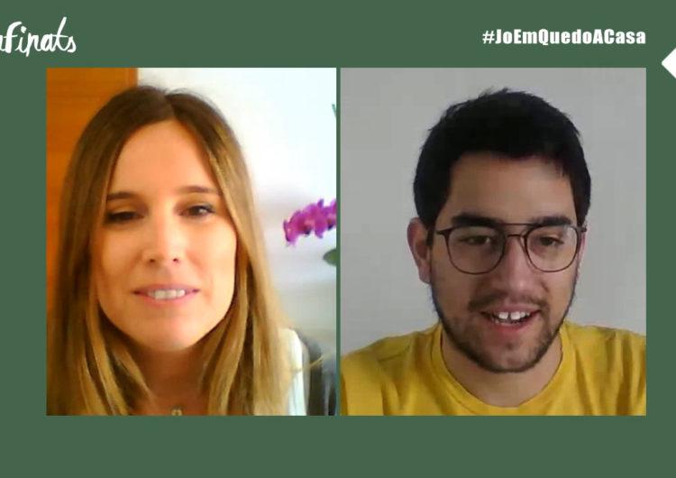 Confinats 6: Kevin Bruque sobre la Xarxa de Voluntariats de Balaguer